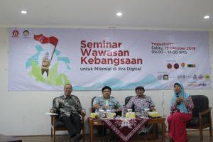Seminar Wawasan Kebangsaan Kolaborasi Duta Damai Yogyakarta dan Universitas Atma Jaya Yogyakarta
